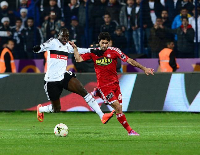 İşte Beşiktaş Sivasspor maçından en özel kareler...