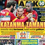 İşte spor basının manşetleri...