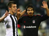 Partizan-Beşiktaş maçı Sırbistan medyasında.