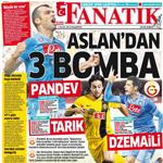 Gazete manşetlerinde Fenerbahçe'nin Karabükspor galibiyeti ile transfer haberleri öne çıktı.