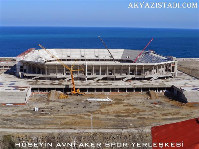 İşte Trabzon'un yapılmakta olan yeni stadındaki son durum