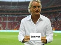 Galatasaray'ın Roberto Mancini ile Fenerbahçe'ye yaptığı gönderme sosyal medyada büyük yankı buldu.