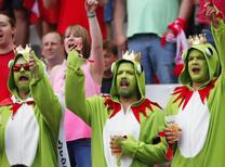 İşte Avusturya - İzlanda maçından en güzel kareler...
