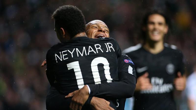 Neymar'dan Mbappe'ye büyük destek