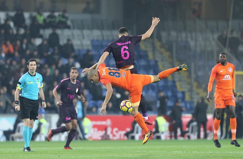 M.Başakşehir-Galatasaray foto galerisi