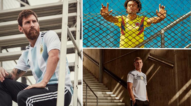 Devler Dünya Kupası'nda bu formaları giyecek