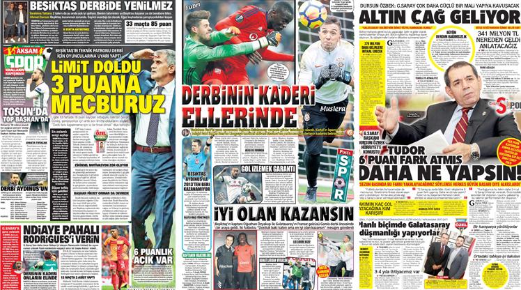 1 Aralık gazete manşetleri