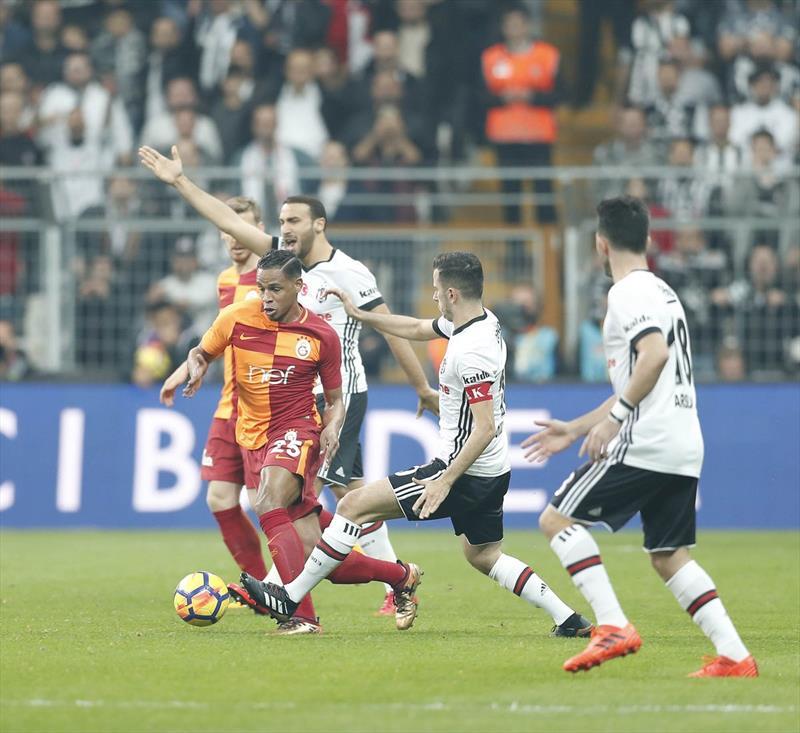 Beşiktaş-Galatasaray foto galerisi