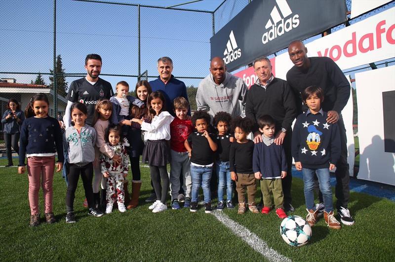 Beşiktaş'ta aile saadeti!