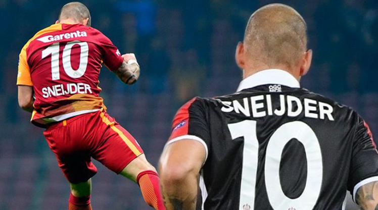 Sneijder Galatasaray'daki günlerini mumla arıyor