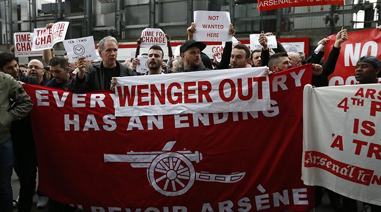 Arsene Wenger'e büyük tepki