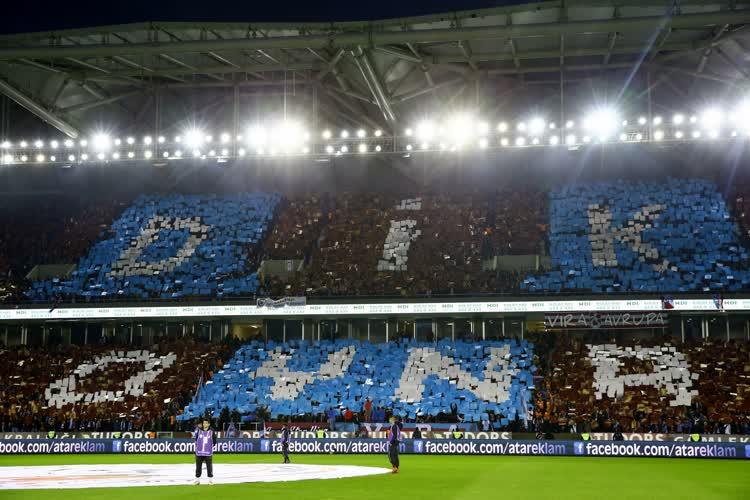 Trabzonspor-Galatasaray foto galerisi