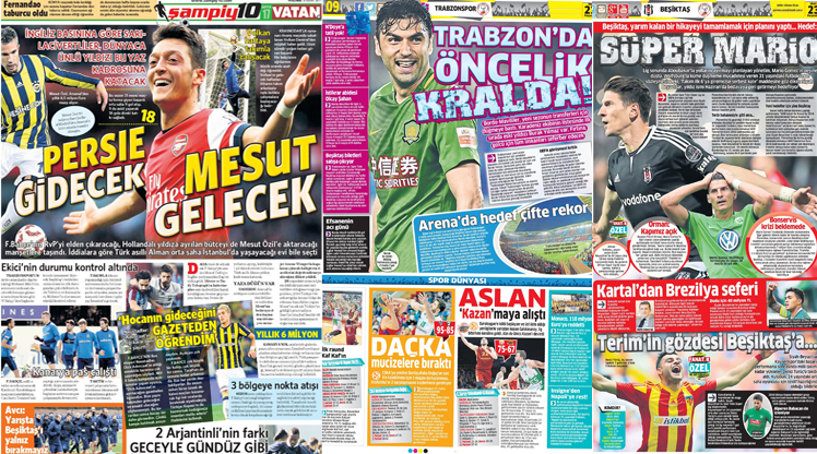 23 Mart gazete manşetleri