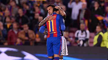 Neymar'ın gözyaşları! Teselli Dani Alves'e düştü!