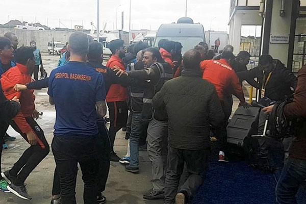 Çaykur Rizespor-Medipol Başakşehir maçı sonrası gerginlik yaşandı