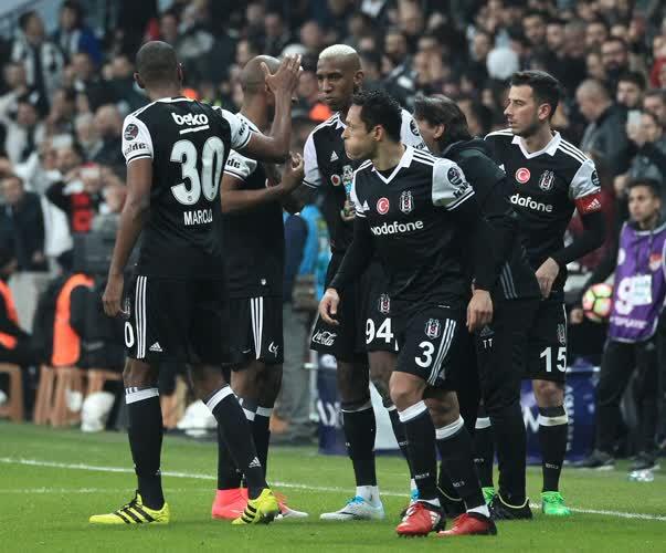 Beşiktaş Avrupa'yı sallıyor