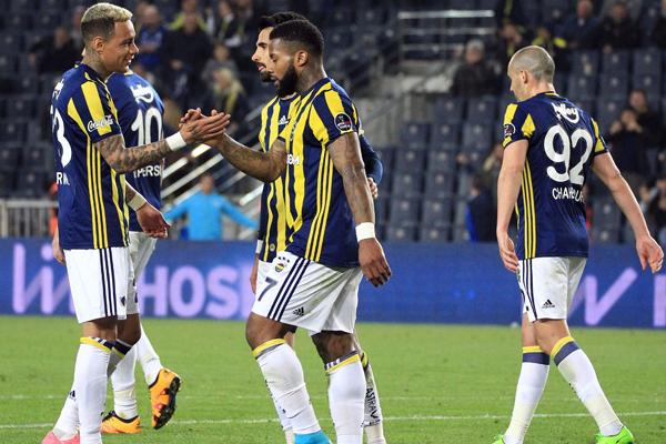 Fenerbahçe-Akhisar Belediyespor Foto Galer
