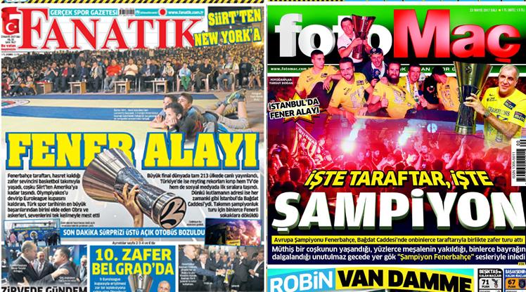 23 Mayıs gazete manşetleri