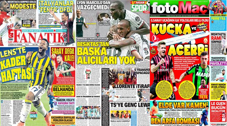 22 Haziran gazete manşetleri