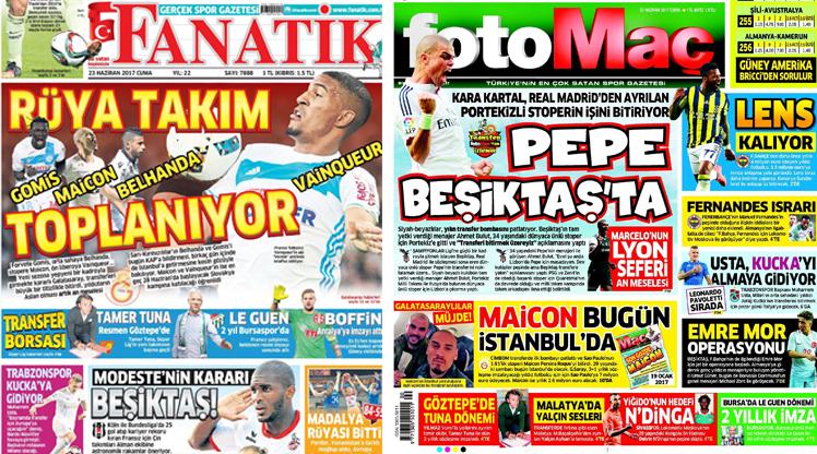 23 Haziran gazete manşetleri