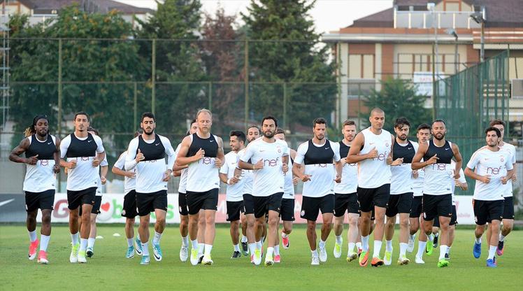 Galatasaray idmanından kareler...