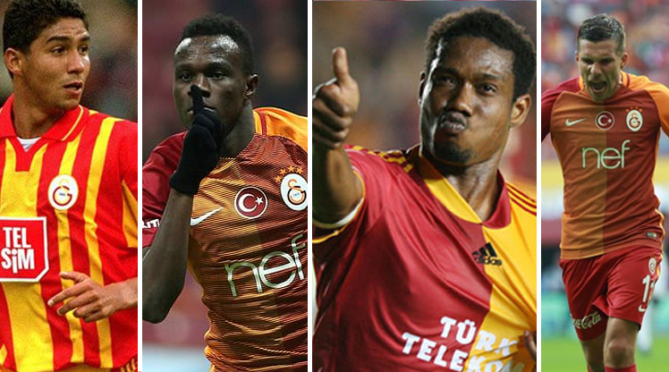 İşte Galatasaray'ın sattığı yabancı yıldızlar!