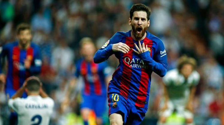"""Messi Real Madrid'de 11'e giremez"""