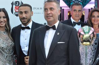 Beşiktaş, 15. şampiyonluğunu görkemli bir baloyla kutladı.