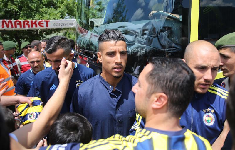Düzce'de Fenerbahçe izdihamı!