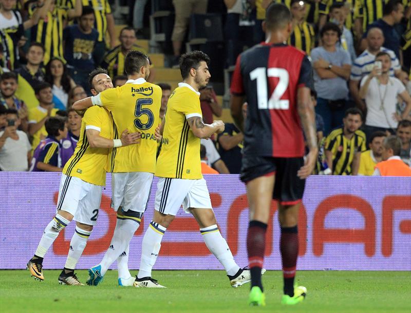 Fenerbahçe-Cagliari foto galerisi
