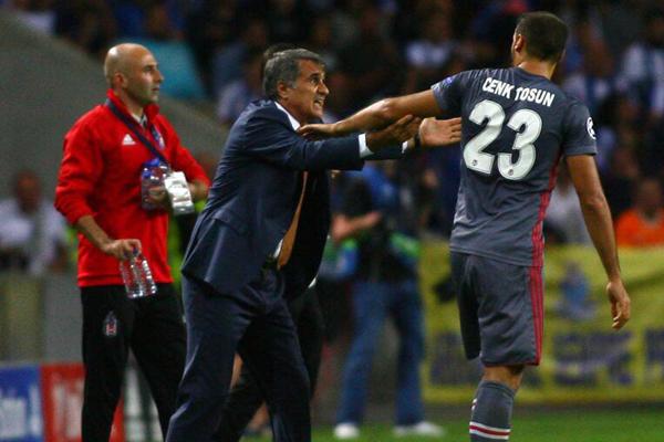 Beşiktaş, Şampiyonlar Ligi ilk maçında Porto'ya konuk oldu.