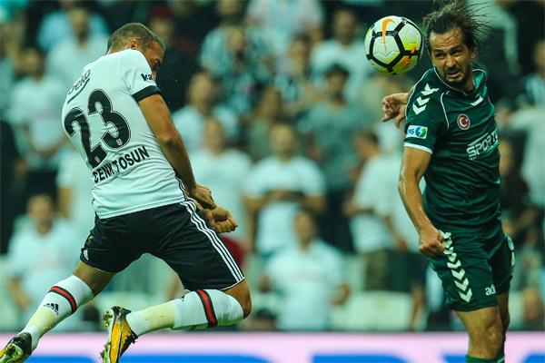 Beşiktaş  - Atiker Konyaspor maçından en güzel kareler burada...
