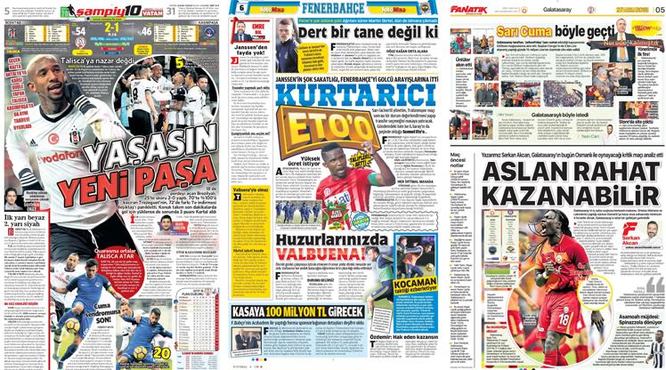 27 Ocak gazete manşetleri