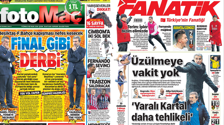 22 Şubat gazete manşetleri