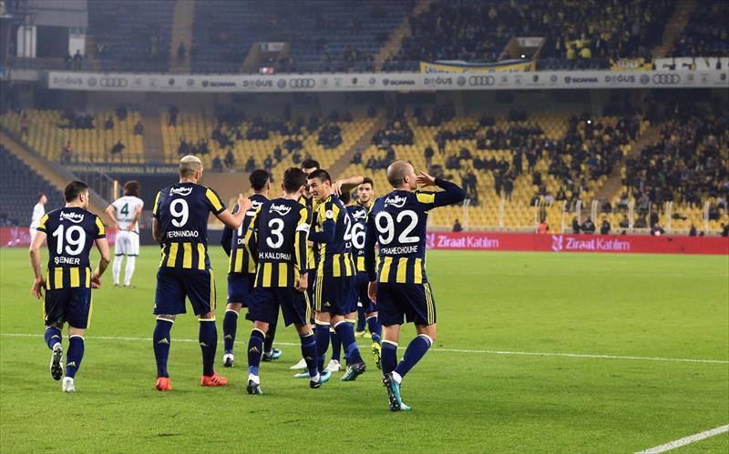Fenerbahçe - Giresunspor foto galerisi