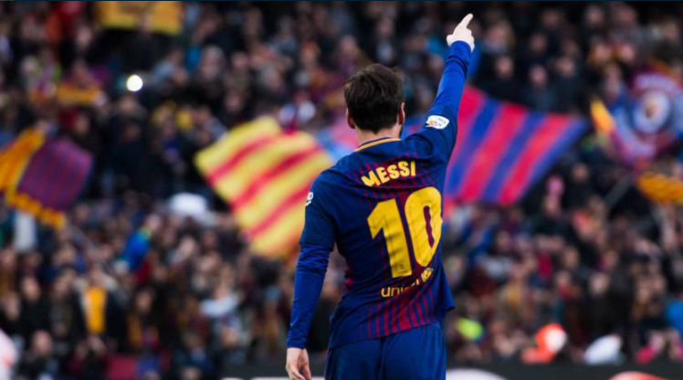 Diego Simeone'den Messi'ye övgü