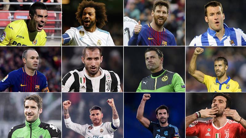 Takımlarına en sadık 32 futbolcu