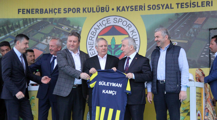 'Fenerbahçe Evi'nin temeli atıldı