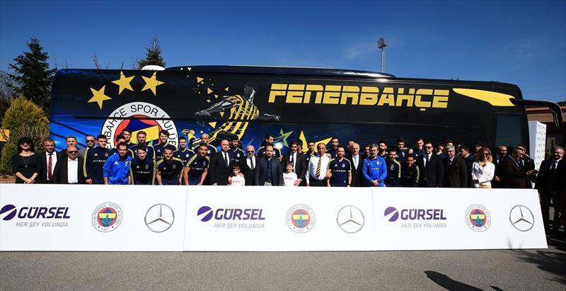 Fenerbahçe yeni otobüsüne kavuştu