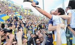 Parma'dan çılgın kutlama