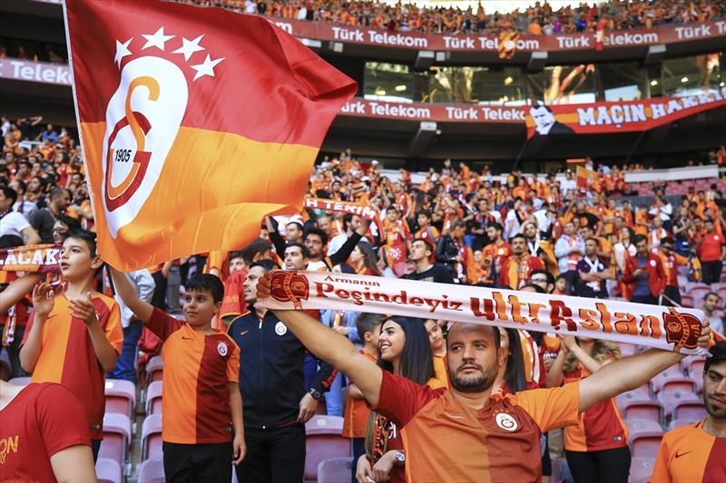 Galatasaray'ın şampiyonluk kutlamaları burada