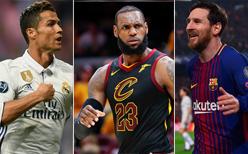 Dünya'nın en ünlü sporcusu açıklandı