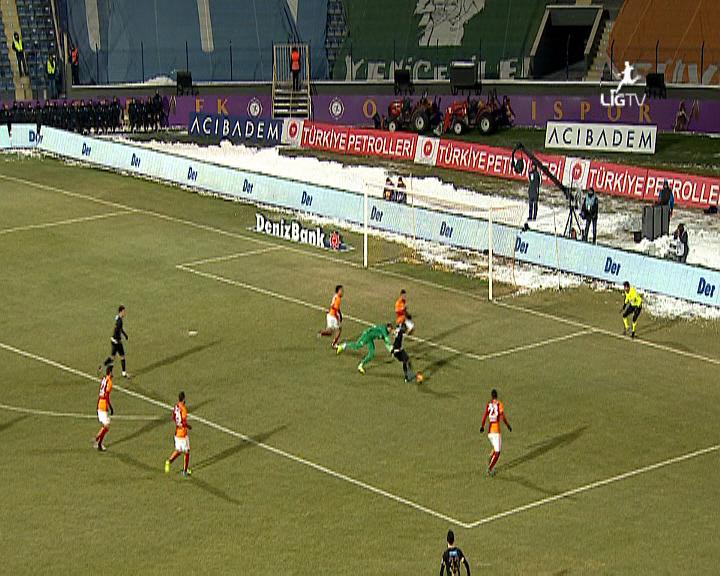 Osmanlıspor FK Galatasaray golleri