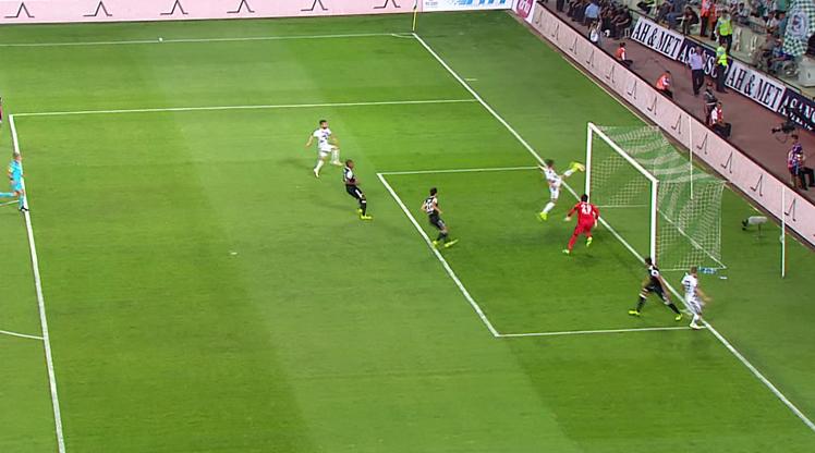 Atiker Konyaspor Beşiktaş golleri