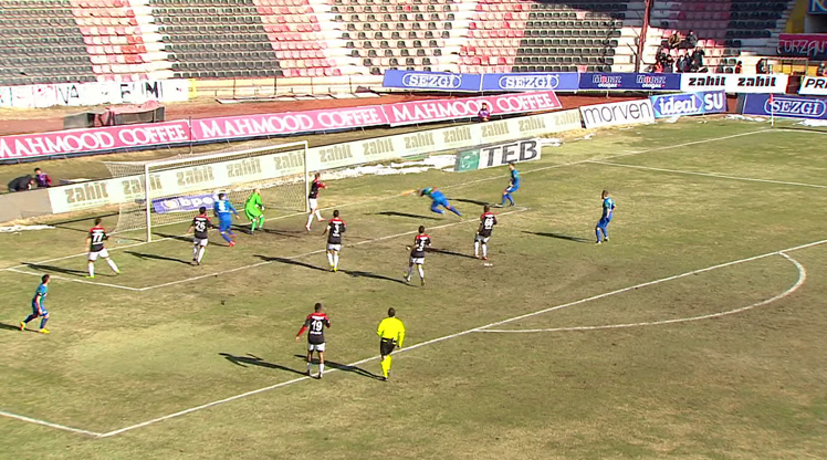 Gaziantepspor Çaykur Rizespor golleri