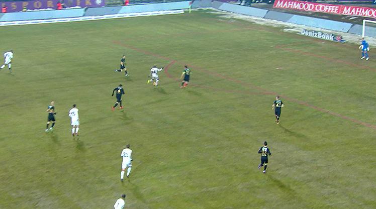 Osmanlıspor FK Beşiktaş golleri