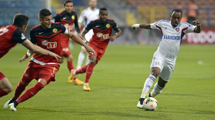KDÇ Karabükspor Eskişehirspor maç özeti