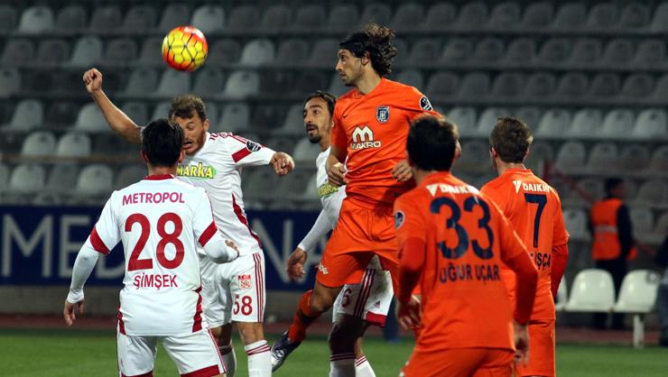 Medicana Sivasspor Medipol Başakşehir maç özeti