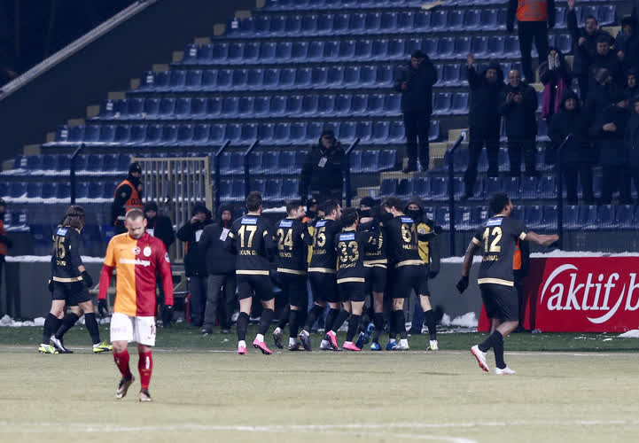 Osmanlıspor FK Galatasaray maç özeti