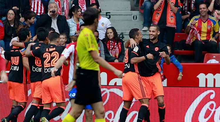 Sporting Gijon Valencia maç özeti